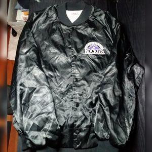 Vintage MLB Colorado Rockies Locker Jacket Large
